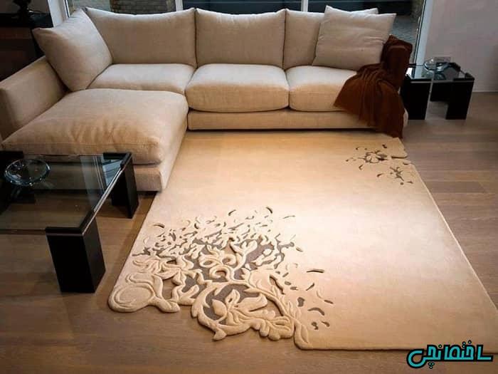 قالیچه مدرن کوچک